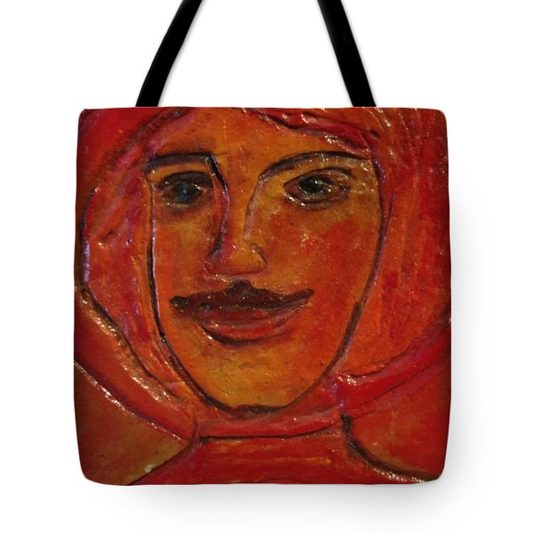 Moustached Prince Tote Bag