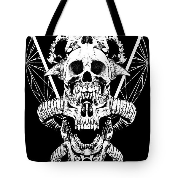 Mouth Of Doom Tote Bag by Tony Koehl