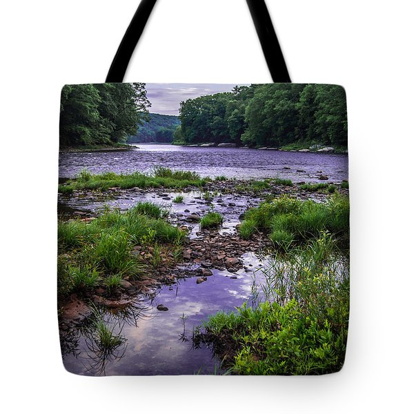 Mouth Of Maple Creek Tote Bag