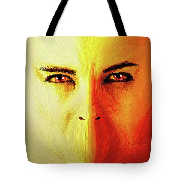 Mouthless Tote Bag