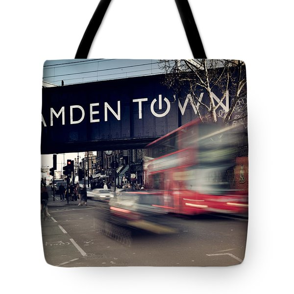 Move Quickly Tote Bag