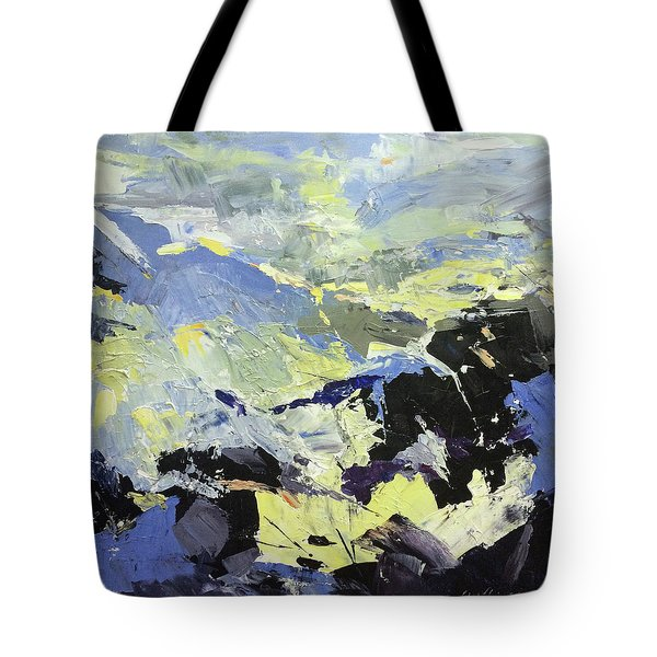Movement Tote Bag by NatikArt Creations