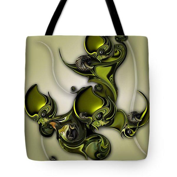 Movement Of Life  Tote Bag