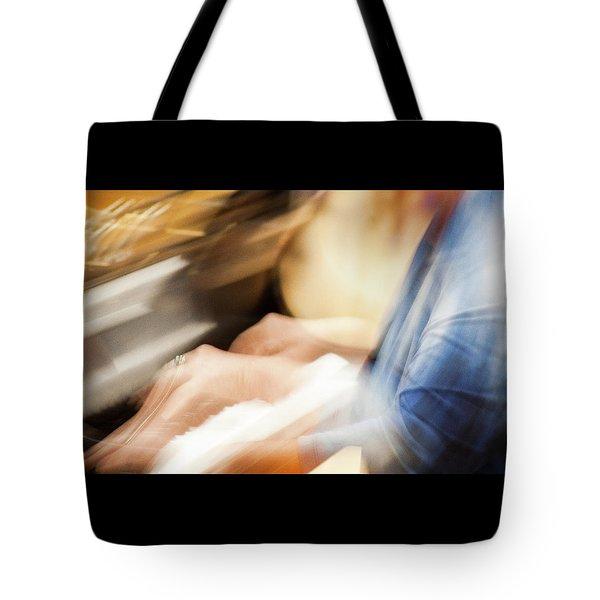 Piano Moves -  Tote Bag