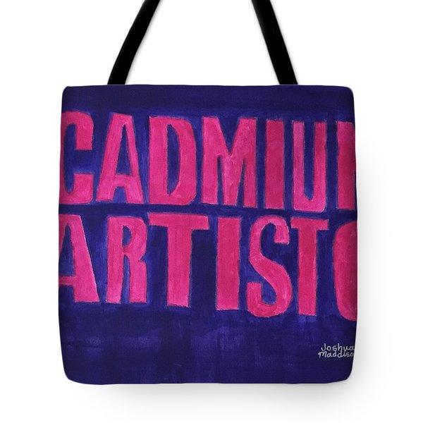 Movie Logo Cadmium Artisto Tote Bag