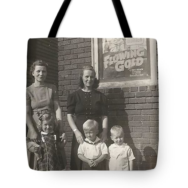 Movie Night Tote Bag by Michael Krek
