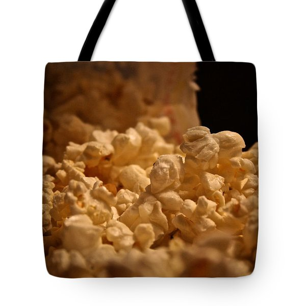 Movie Night Tote Bag by Susan Herber