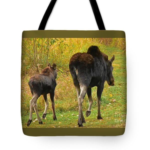 Movin On Down The Road Tote Bag