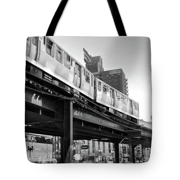 Moving Boxes Line Tote Bag by Trish Hale