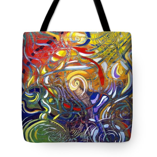 Moving Color Tote Bag