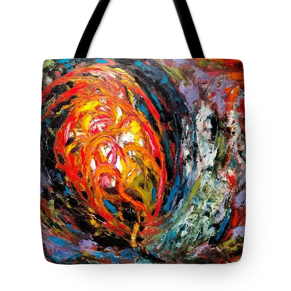 Moving Energy Tote Bag