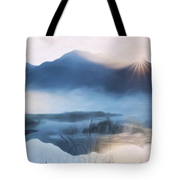 Moving Forward - Inspirational Art Tote Bag