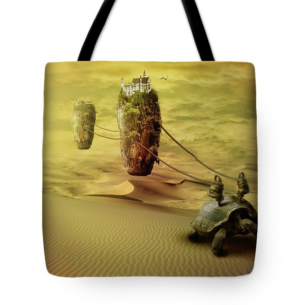 Moving On Tote Bag by Nathan Wright