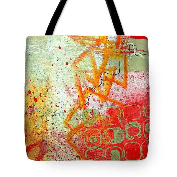 Moving Through 34 Tote Bag by Jane Davies