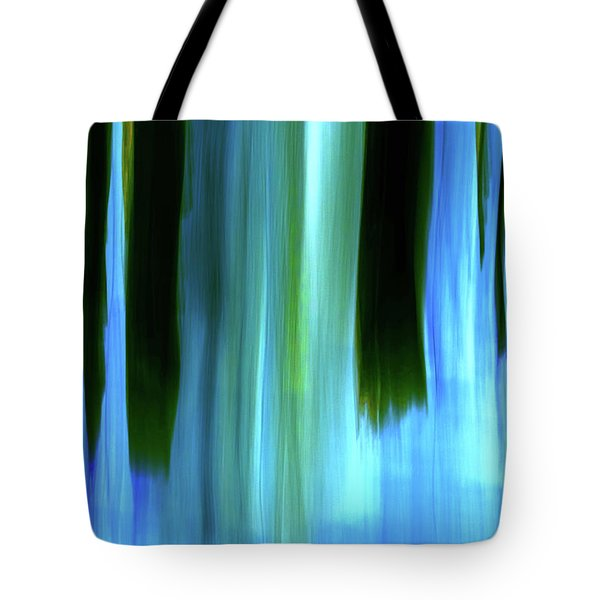 Moving Trees 37-05 Portrait Format Tote Bag