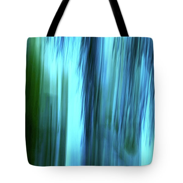 Moving Trees 37-15portrait Format Tote Bag