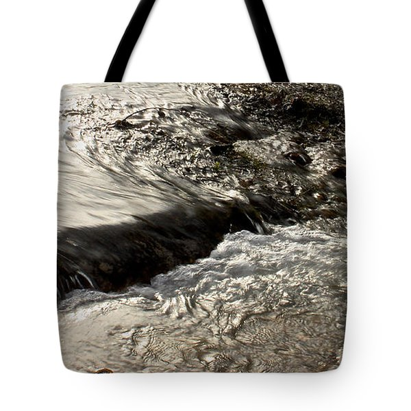 Moving Water Tote Bag