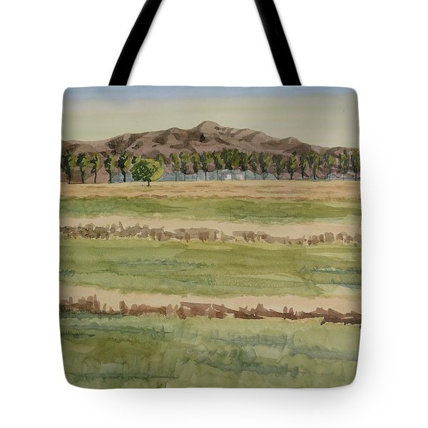 Mown Hay Tote Bag by Bethany Lee