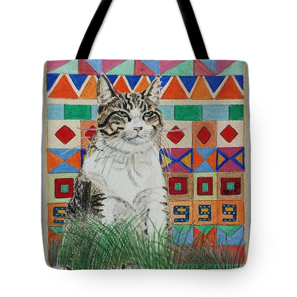 Mozart In The Grass Tote Bag