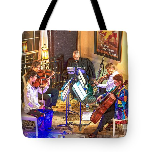 Tote Bag featuring the photograph Mozart Mash by Anthony Baatz
