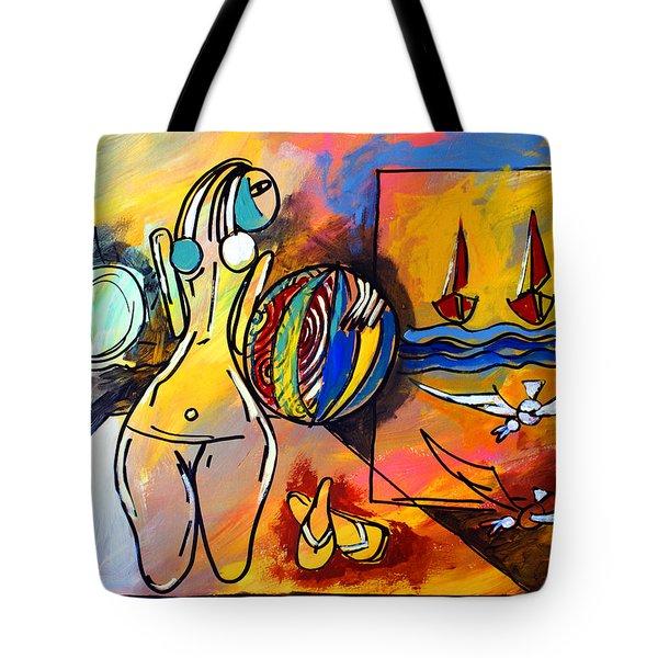 Mr Ameeba 6 Tote Bag