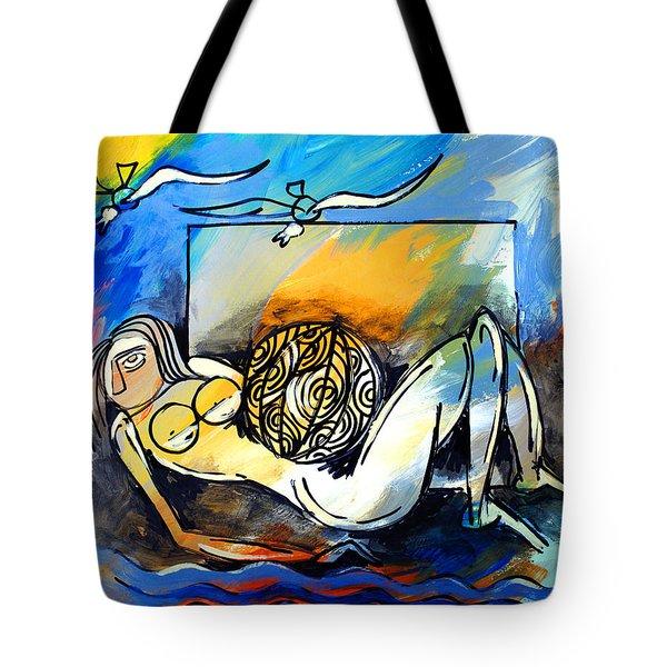 Mr Ameeba 9 Tote Bag