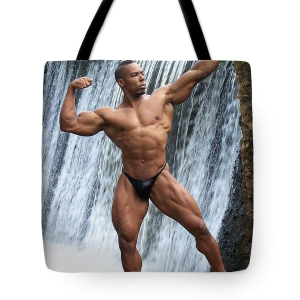 Mr America Tote Bag by Jake Hartz