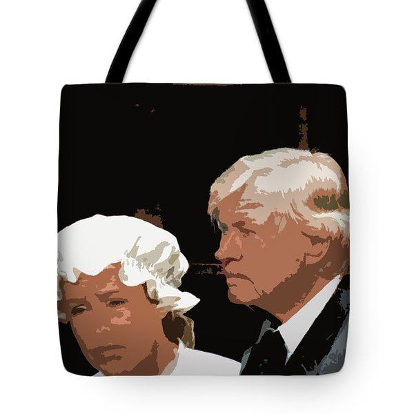 Mr And Mrs Tote Bag