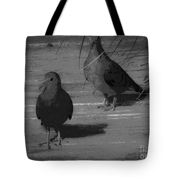 Mr And Mrs Dove Tote Bag