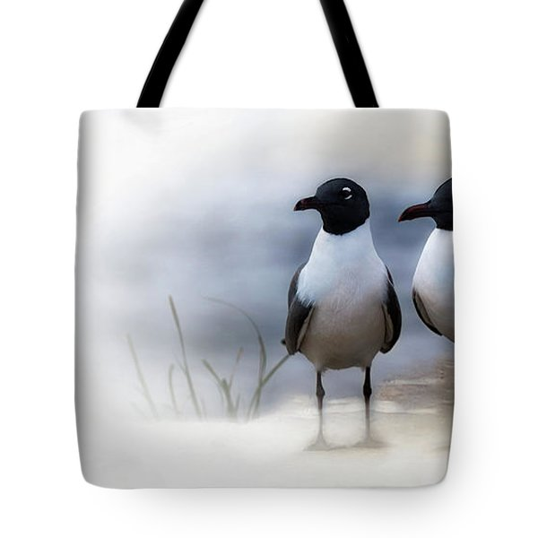 Mr And Mrs Laughing Gull Tote Bag