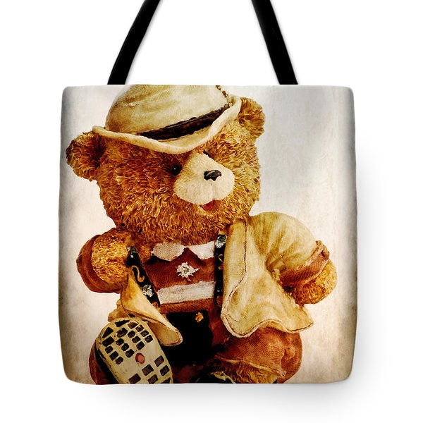 Mr. Bear Tote Bag