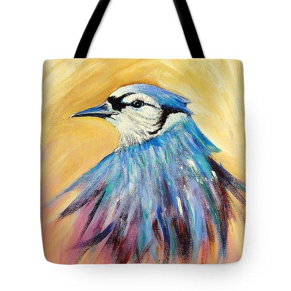 Mr. Blue Tote Bag