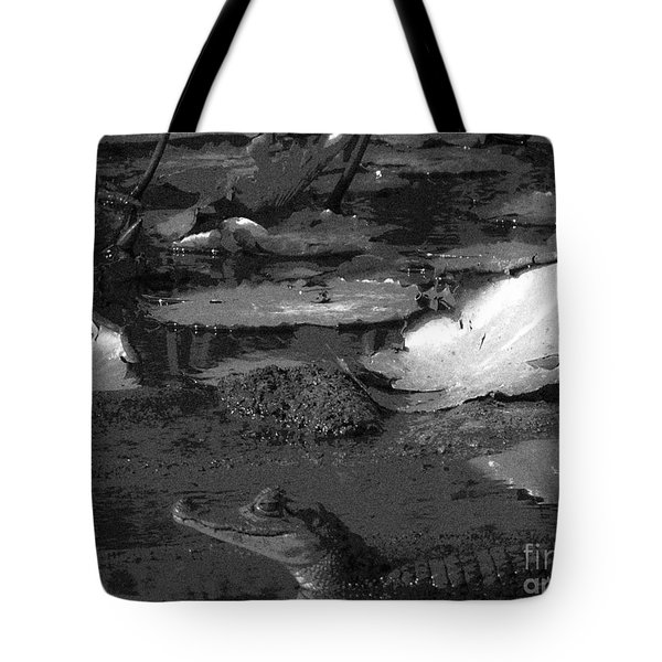 Mr. Caiman Tote Bag