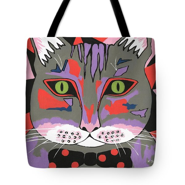 Mr Cat Tote Bag