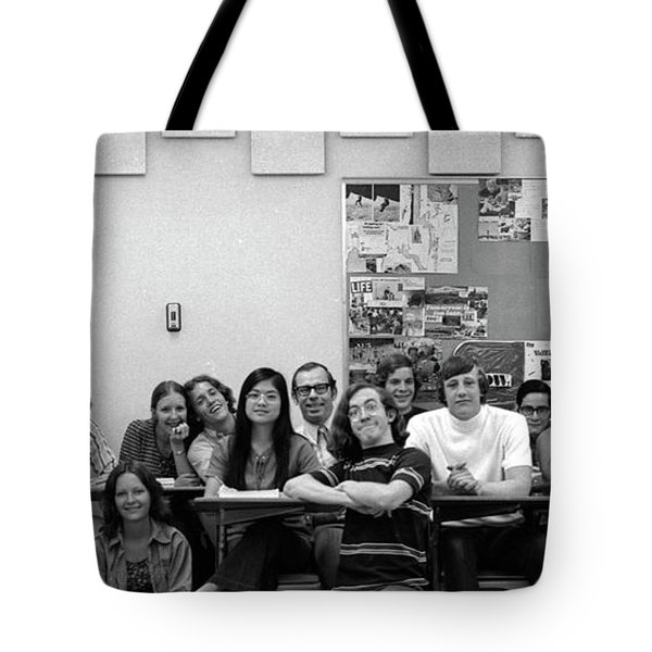 Mr Clay's Ap English Class - Cropped Tote Bag