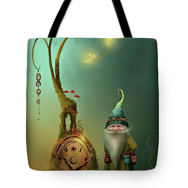 Mr Cogs Tote Bag