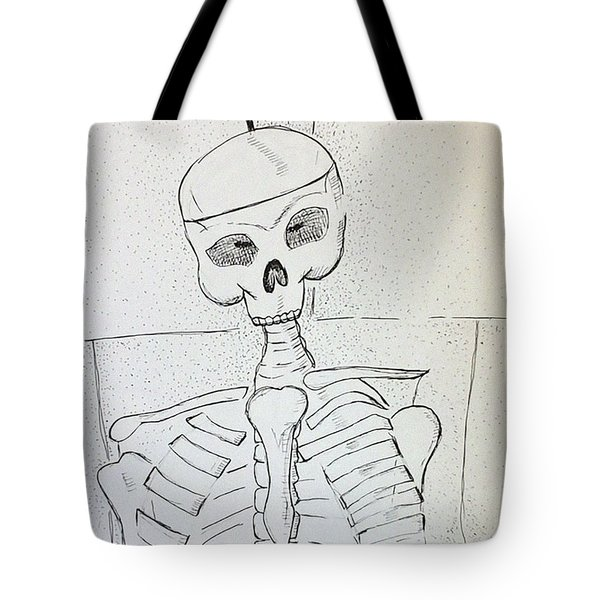 Mr Cooper's Aide Tote Bag by Loretta Nash