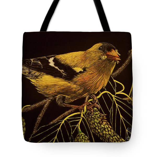 Mr Goldfinch Tote Bag
