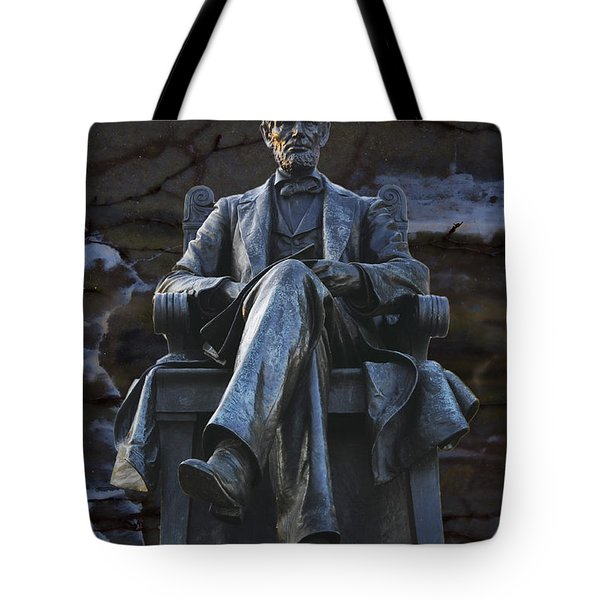 Mr. Lincoln Tote Bag