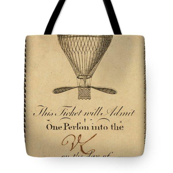 Mr. Lunardi Ascension Tote Bag