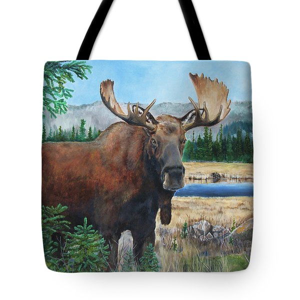 Mr. Majestic Tote Bag
