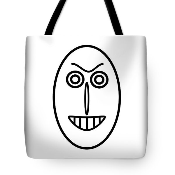 Mr Mf Has A False Smile Tote Bag