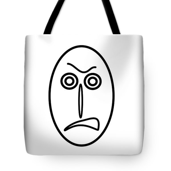 Mr Mf Is Very Angry Tote Bag