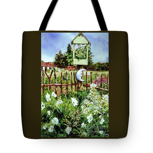 Mr Moon's Garden Tote Bag