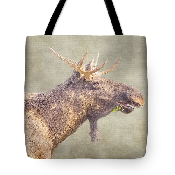 Tote Bag featuring the photograph Mr Moose by Roy McPeak