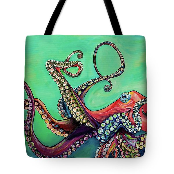 Mr Octopus Tote Bag