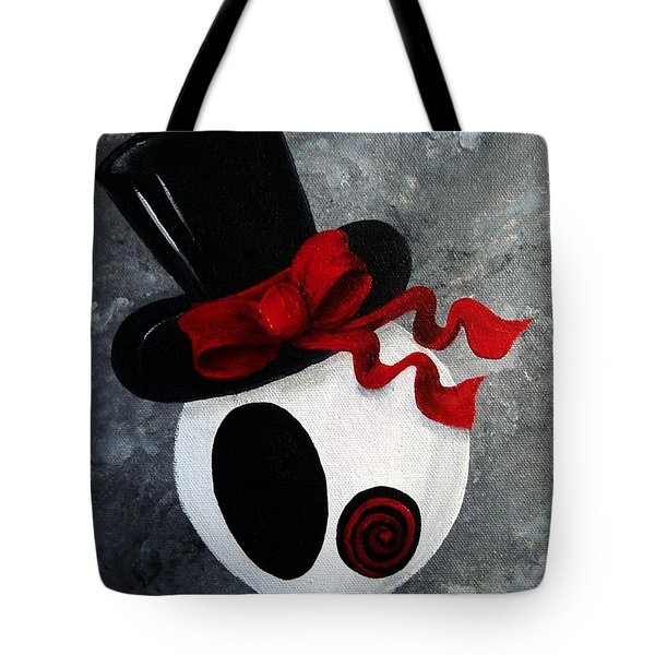Mr. Punk Love Tote Bag by Oddball Art Co by Lizzy Love