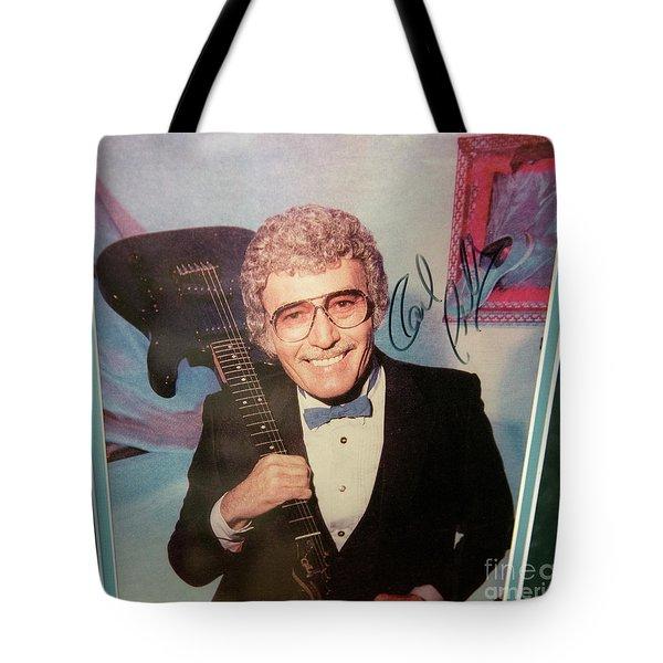 Mr. Sam Phillips Sun Records  Tote Bag