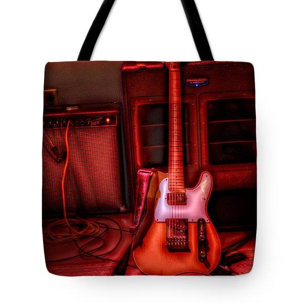 Mr. Scratch's Axe Tote Bag