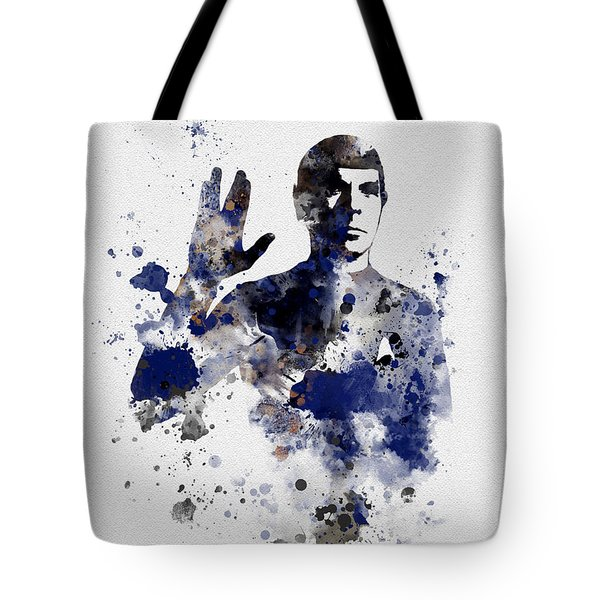 Mr Spock Tote Bag